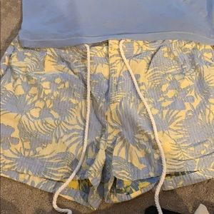 Free people short set- worn once- price is for set